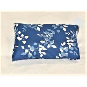 枕カバー/ピローケース リーフ ネイビー 35cm×50cm用 しわになりにくい 乾きやすい