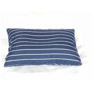 枕カバー/ピローケース 幾何ボーダー ネイビー 43cm×63cm用 しわになりにくい 乾きやすい