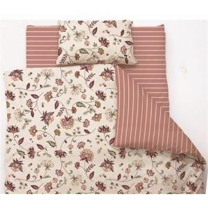 掛け布団カバー セミダブル 170×210cm  サラサ ピンク  しわになりにくい 乾きやすい