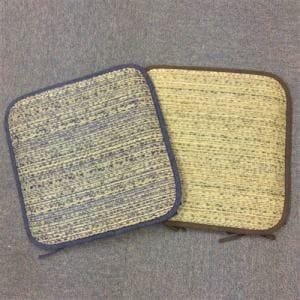 ㈱水野 い草シート アジアン2 40×40 ブルー
