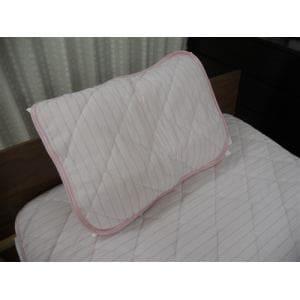 大宗  ニットメッシュ枕パット DSPP182 45×55cm ピンク