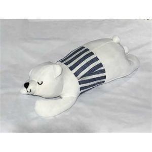 接触冷感素材 アニマル抱き枕 しろくま 約65cm