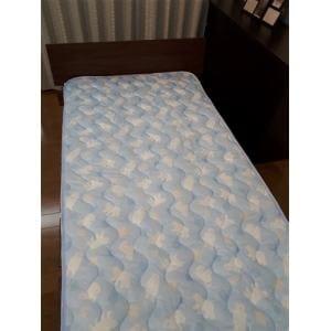 大宗 京都西川 冷感プリント敷パット  100×205cm ブルー