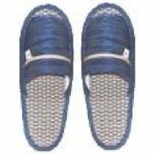 井草スリッパ フリーサイズ(約)24cm~26cm ブルー