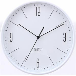 掛時計 ホーン ホワイト 25cm