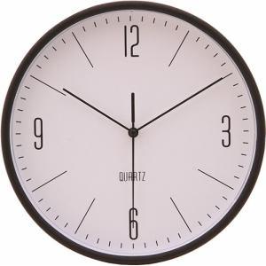 掛時計 ホーン ブラック 25cm