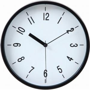 掛時計 ハリー ブラック 22cm
