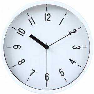 掛時計 ハリー ホワイト 22cm