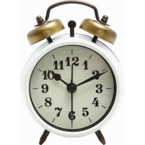 置時計 ベルアラーム アイボリー