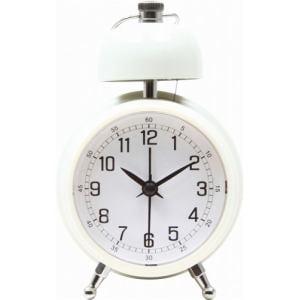 置時計 ベルクロック アイボリー