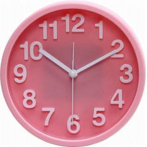 置時計 リアム ピンク