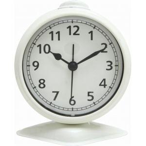 置時計 テーブルアラーム アイボリー