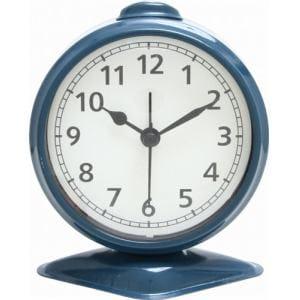 置時計 テーブルアラーム ブルー