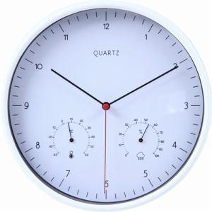 掛時計 ローレス ホワイト 25cm