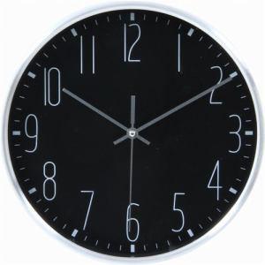 掛時計 ラーク ブラック 25cm