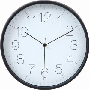 掛時計 リアム ブラック 30cm