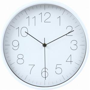掛時計 リアム ホワイト 30cm
