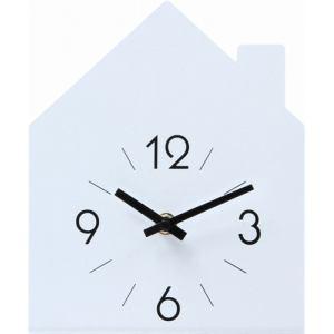 置時計 ハウス ホワイト