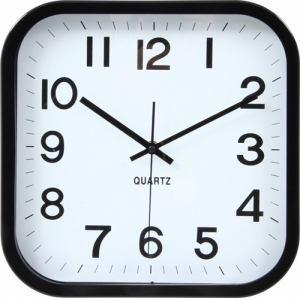 掛時計 レオ ブラック 30cm