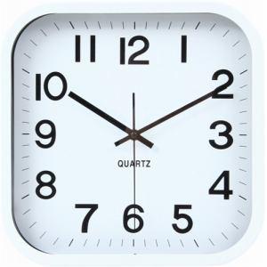 掛時計 レオ ホワイト 30cm