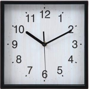 掛時計 シオン ブラック 24cm