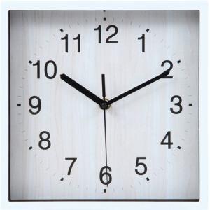 掛時計 シオン ホワイト 24cm