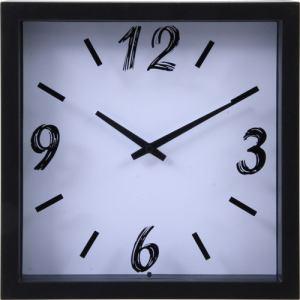掛時計 ペイント ホワイト 23cm