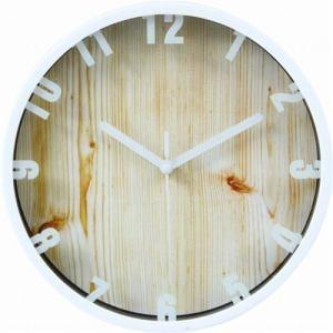 掛時計 ブランチ ホワイト 22cm
