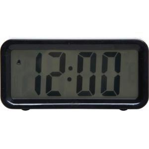 置時計 ブロック ブラック