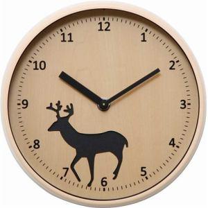 掛時計  レインディア 径22cm