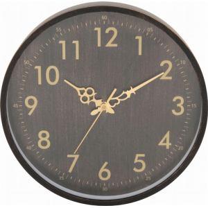 掛時計 ブラック