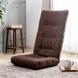 ハイバック座椅子  ダークブラウン