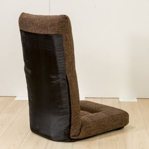 [1人掛]ハイバック座椅子 ダークブラウン