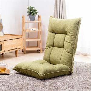 腰部空気調整機能付座椅子  グリーン