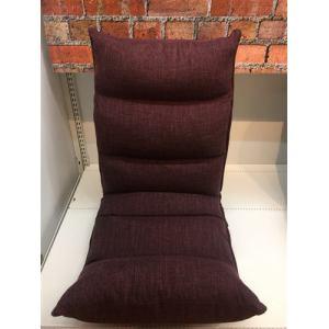3ヶ所調整全身リラックス座椅子  ワインレッド