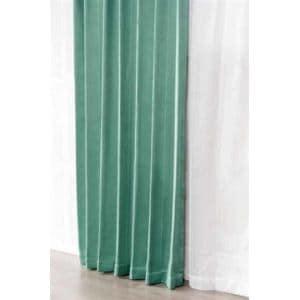 [巾100×丈200cm] 遮光 カーテン4枚組セット  グリーン 遮光等級2級 形状記憶加工 ウォッシャブル