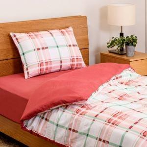 布団セット シングル カバー3点セット(掛・敷・枕) ローズ しわになりにくい 乾きやすい