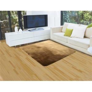 ㈱水野 こたつ敷きカーペット 暖 180×180 ブラウン