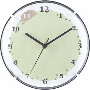 掛時計 アステロ イノシシ   直径20cm