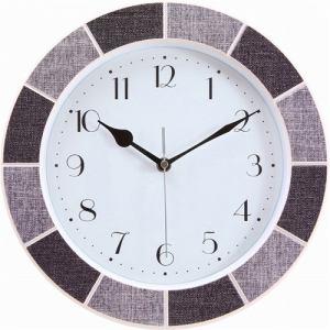 掛時計 トマス リネン   直径30cm
