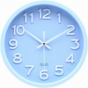 掛時計 スピカ  パステルブルー 直径30cm