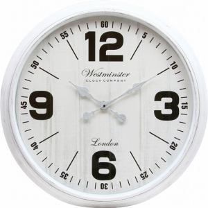 掛時計 ジュピター  ホワイト 直径75cm