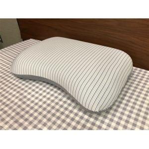 大宗(株) DSM-191 接触冷感低反発もっちり枕  35×50cm ネイビー
