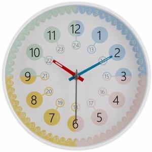 不二貿易  掛時計ポリマ05  Φ25cm