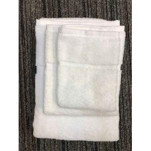 ハンドタオル 泉州こだわりボヌール オフホワイト (1枚) 綿100% 吸水性、乾きがよく、毛羽落ちが少ない 約34×36cm 野村タオル(株)