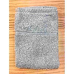 ハンドタオル 泉州こだわりボヌール アクアブルー (1枚) 綿100% 吸水性、乾きがよく、毛羽落ちが少ない 約34×36㎝ 野村タオル(株)