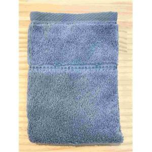 ハンドタオル 泉州こだわりボヌール チャコール (1枚) 綿100% 吸水性、乾きがよく、毛羽落ちが少ない 約34×36cm 野村タオル(株)