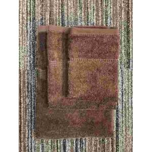 ハンドタオル 泉州こだわりボヌール ブラウン (1枚) 綿100% 吸水性、乾きがよく、毛羽落ちが少ない 約34×36cm 野村タオル(株)