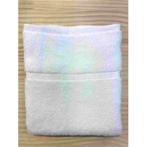 フェイスタオル 泉州こだわりボヌール オフホワイト (1枚) 綿100% 吸水性、乾きがよく、毛羽落ちが少ない 約34×85cm 野村タオル(株)