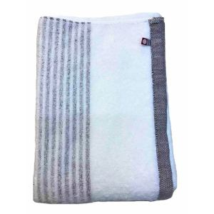 バスタオル 今治タオル シンプルボーダー ブラウン (1枚) 綿100% 柔らかな肌触りと優れた吸水性 約60×120cm 野村タオル(株)